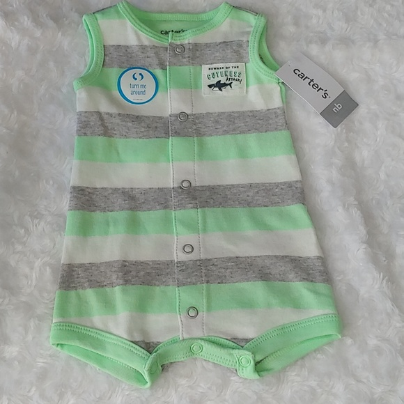 5720815d7 Carter's One Pieces | B2g1 Carters Baby Boy Tank Romper Creeper ...